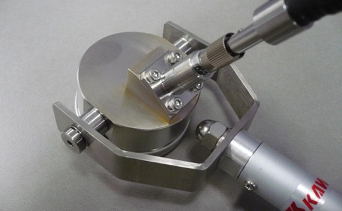 金椀型表面温度計 測定部位