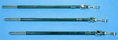 サブランスへの着脱の際ホルダー本体を回す必要がないため、内部リード線のねじれによる断線の心配がありません。